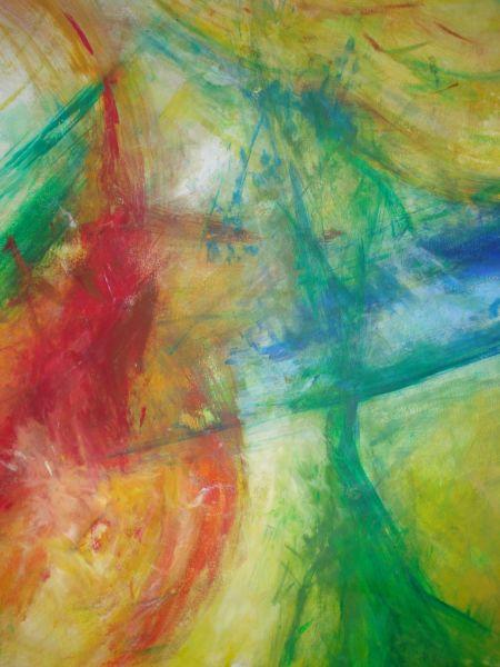 Die figurative Malerei war ohne Zukunft während sich die abstrakte Malerei zu behaupten schien Zumindest für eine gewisse Zeit bis  durch die digitalen Medien scheinbar abgelöst  auch deren Ende prophezeit wurde